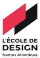 Logo l'écolde de design Nantes Atlantique